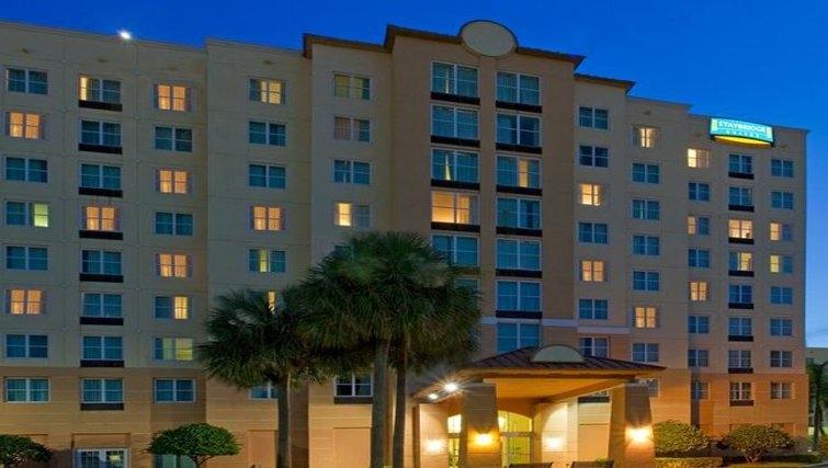 Spectacular exterior of Staybridge Suites Miami/Doral Area