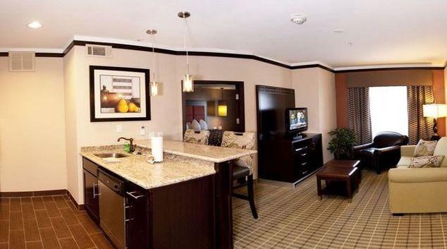 Ideal living area in Staybridge Suites DFW Airport North