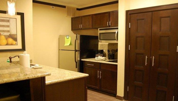 Practical kitchen in Staybridge Suites DFW Airport North