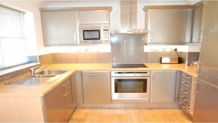 Modern kitchen in Sele Mill Apartments