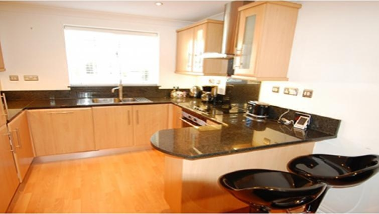 Desirable kitchen in Sele Mill Apartments