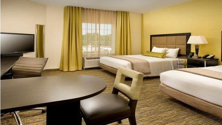 Modern living area in Candlewood Suites Alexandria-Fort Belvoir
