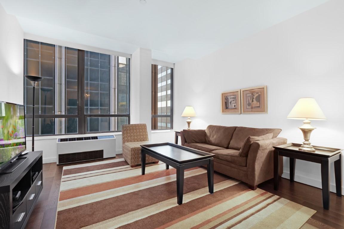 Window at 95 Wall Apartments, Financial District, Manhattan
