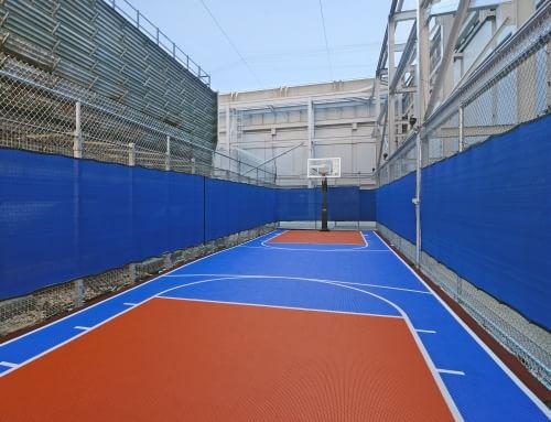 Basketball at 95 Wall Apartments, Financial District, Manhattan