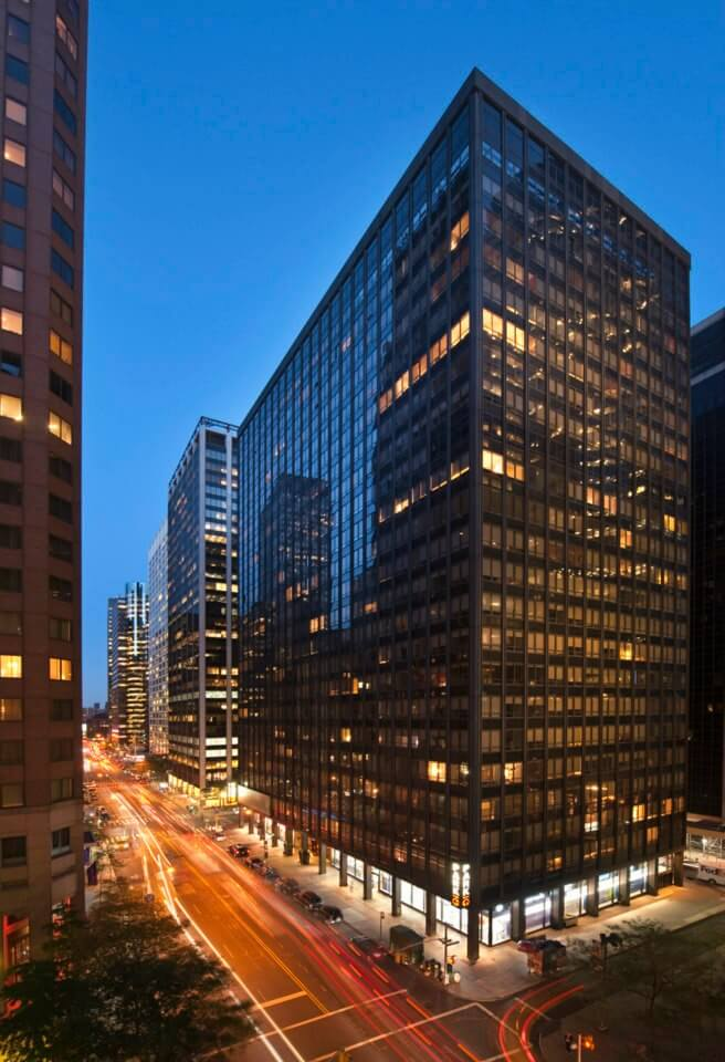 Exterior at 95 Wall Apartments, Financial District, Manhattan