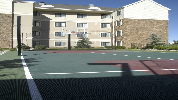 Ideal sports court in Staybridge Suites Denver-Cherry Creek