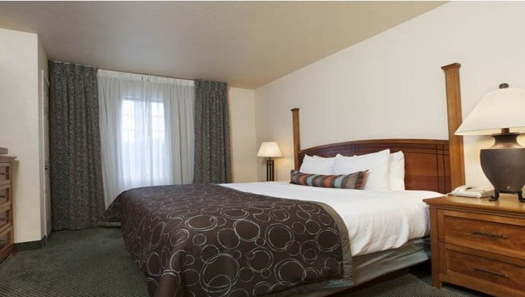 Comfortable bedroom in Staybridge Suites Denver-Cherry Creek