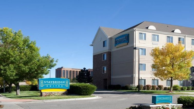 Welcoming exterior of Staybridge Suites Denver-Cherry Creek