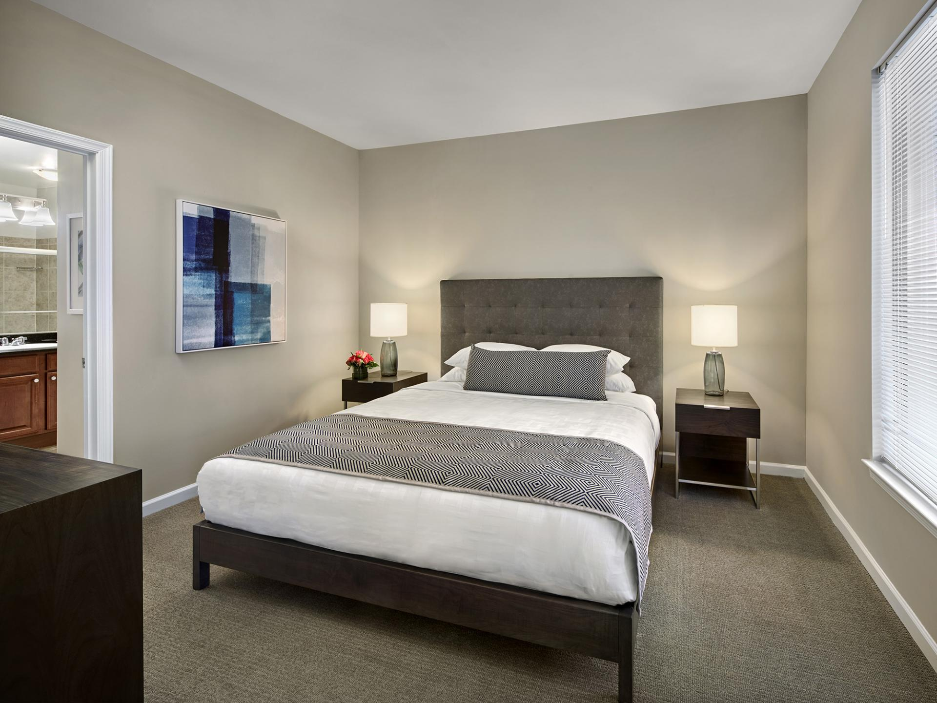 Bedroom at AVE Union Apartments