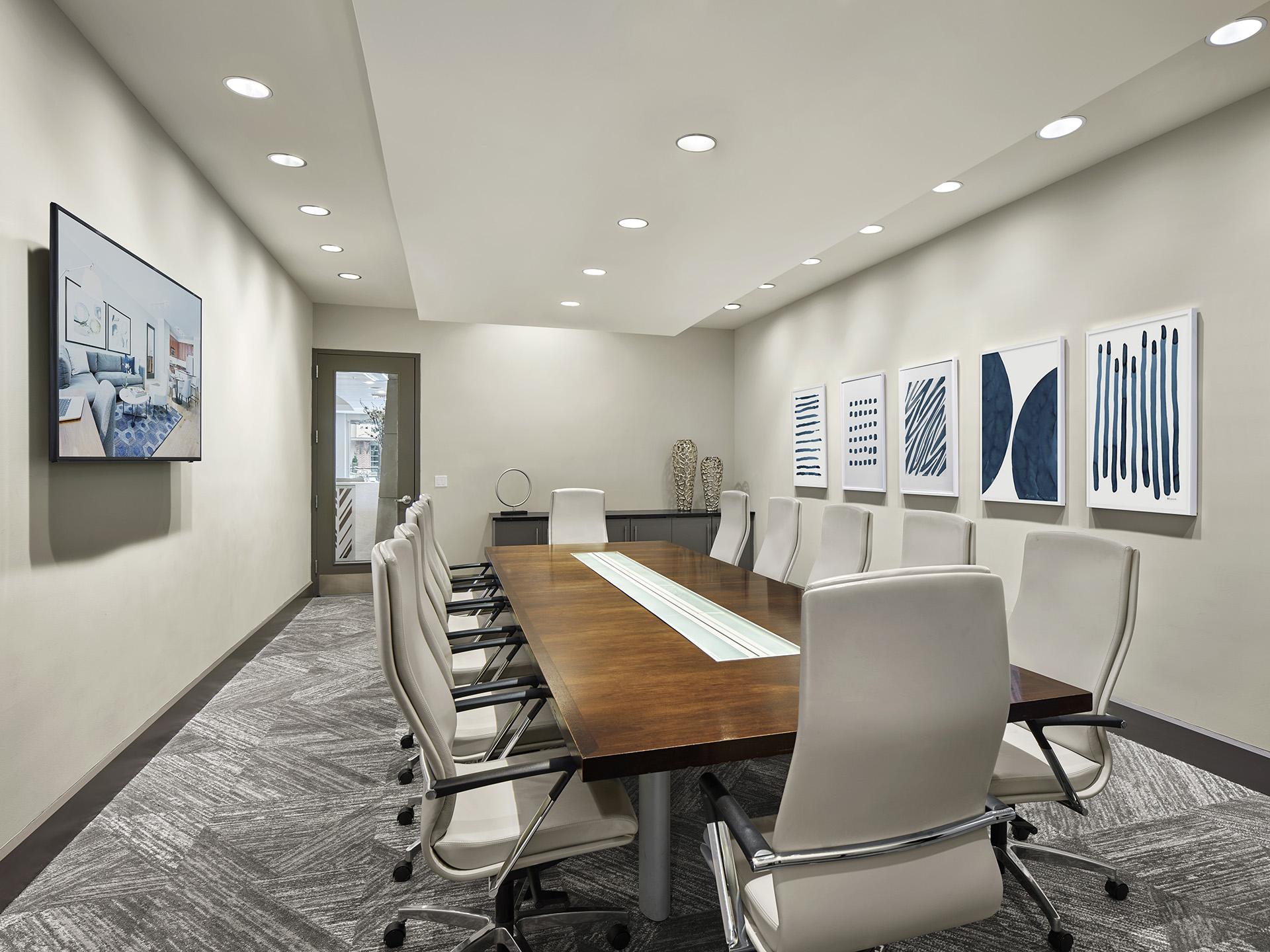 Board room at AVE Union Apartments, Centre, Union