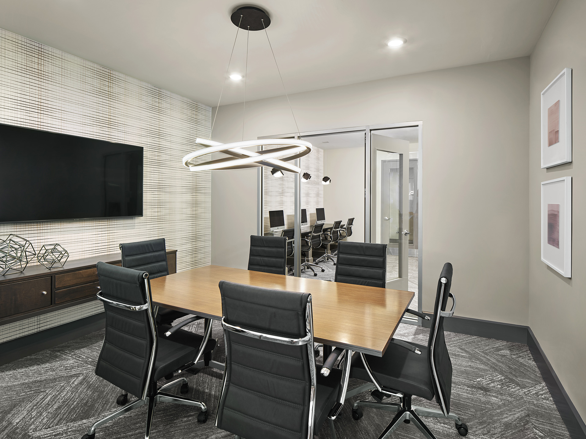 Meeting room at AVE Union Apartments, Centre, Union