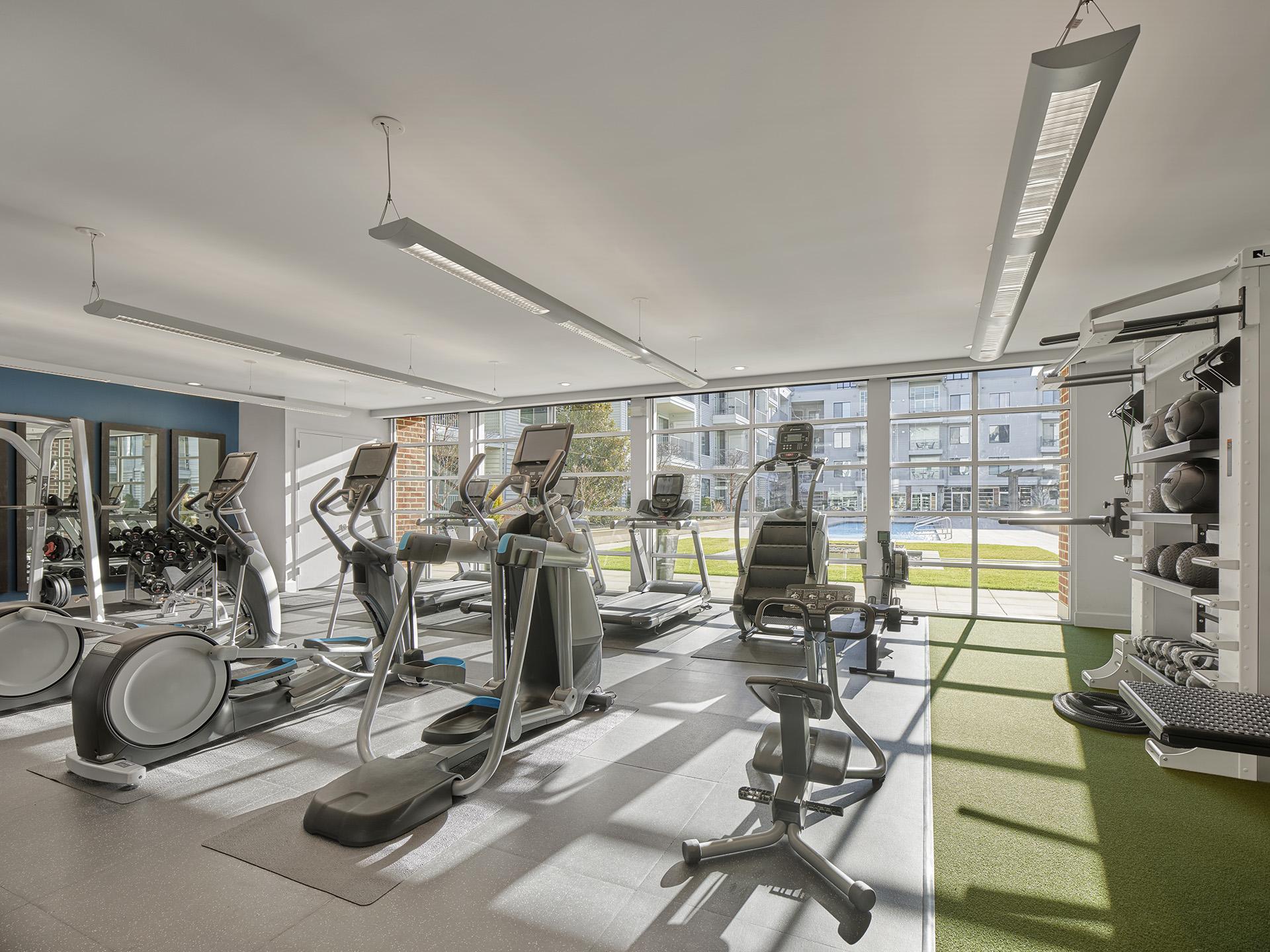 Gym at AVE Union Apartments, Centre, Union