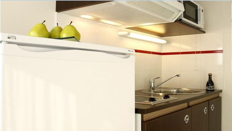 Practical kitchen in Appart City Chalon Sur Saone