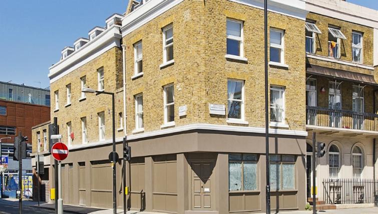 Inviting exterior of Native London Bridge Apartments