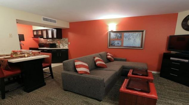 Relaxing living area in Staybridge Lake Buena Vista
