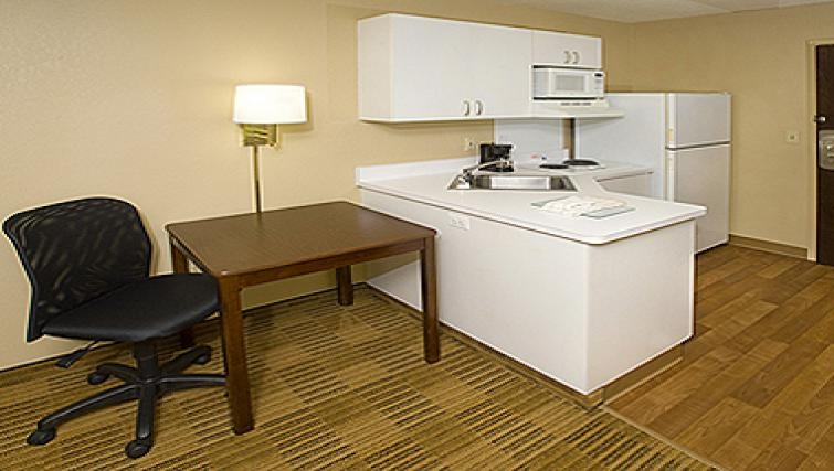 Practical kitchen in Extended Stay America Woburn