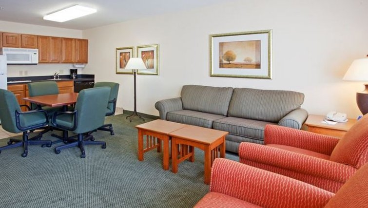 Practical living area in Staybridge Suites Houston Willowbrook