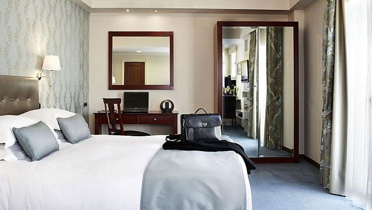 Double bedroom at AVA Hotel Apartments and Suites