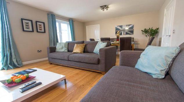 Comfortable living area Trevelyan Court Apartment