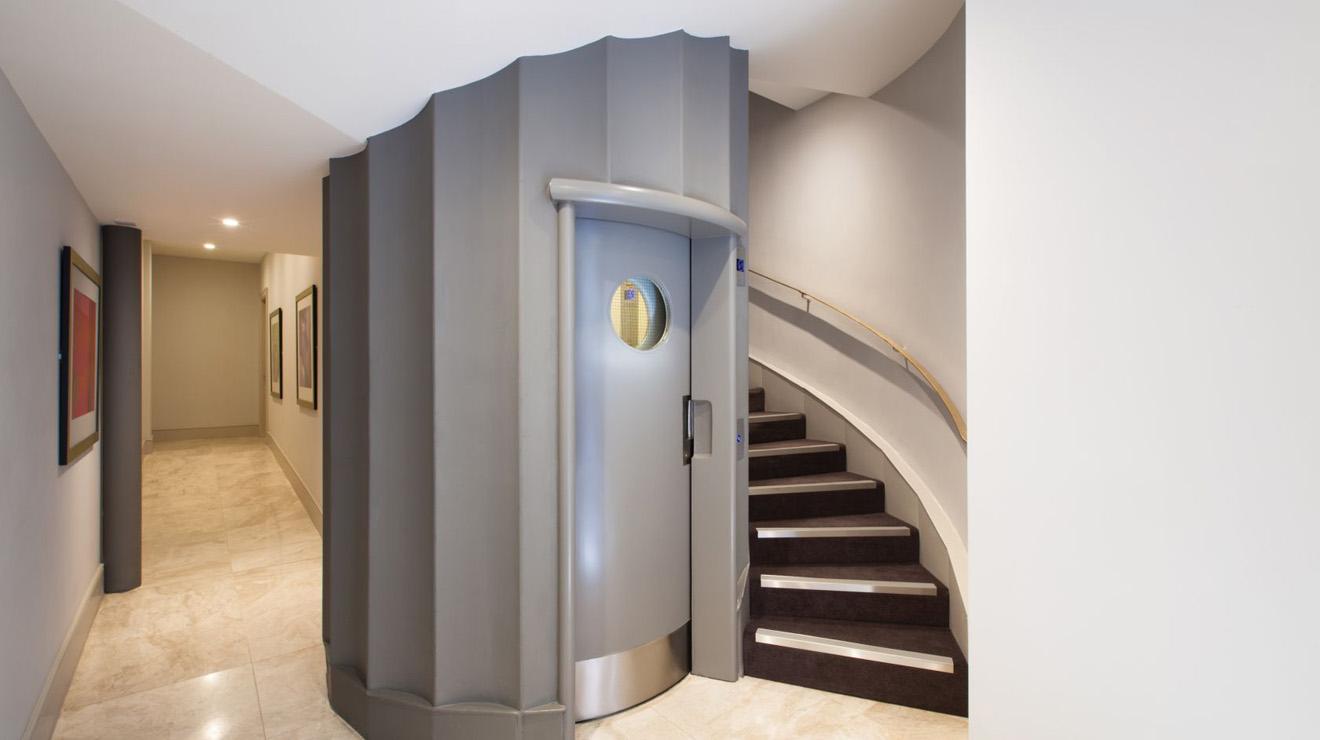 Lift at AKA Marylebone