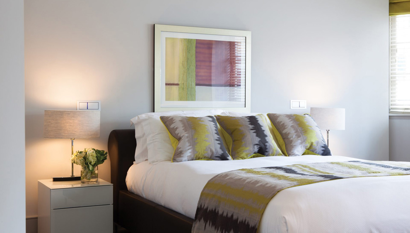 Bedroom at AKA Marylebone