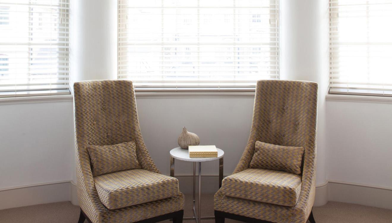 Chairs at AKA Marylebone
