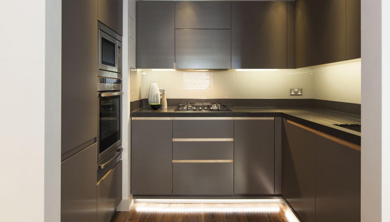 Kitchen facilities at AKA Marylebone