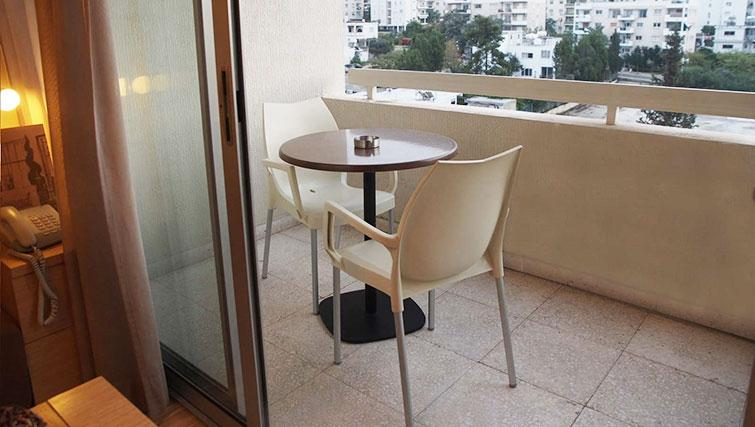 Balcony at Almond Apartments Cyprus