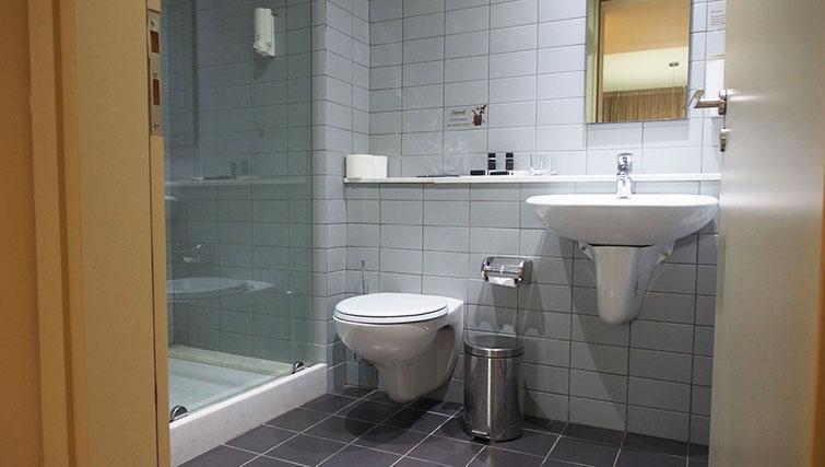 Bathroom at Almond Apartments Cyprus