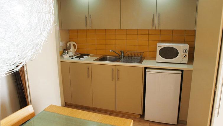 Kitchen at Almond Apartments Cyprus