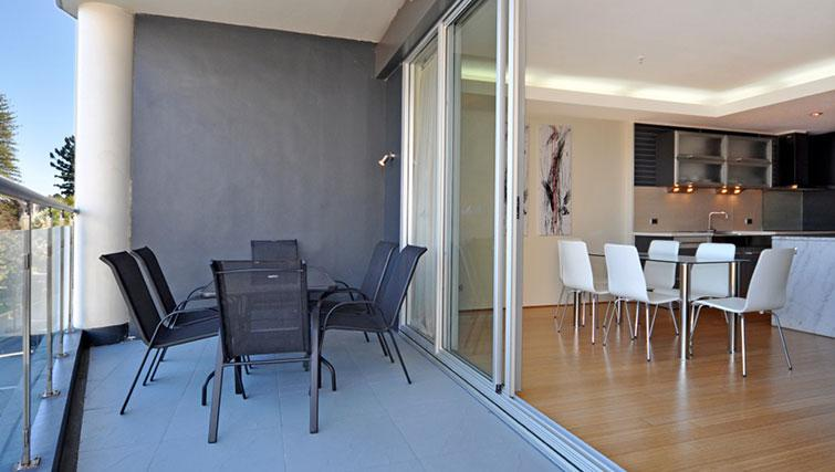 Private balcony in Astra Perth CBD St Georges Terrace