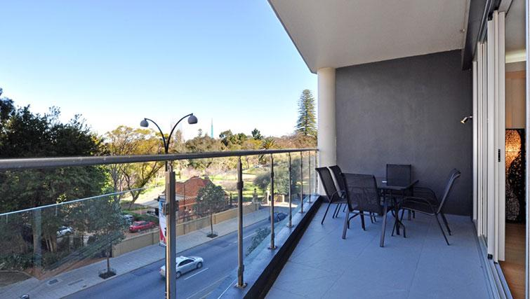 Balcony at Astra Perth CBD St Georges Terrace
