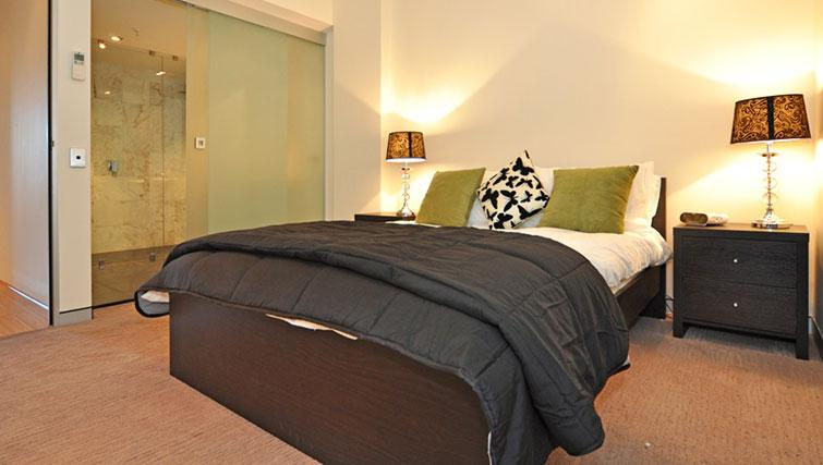 Luxurious bedroom in Astra Perth CBD St Georges Terrace