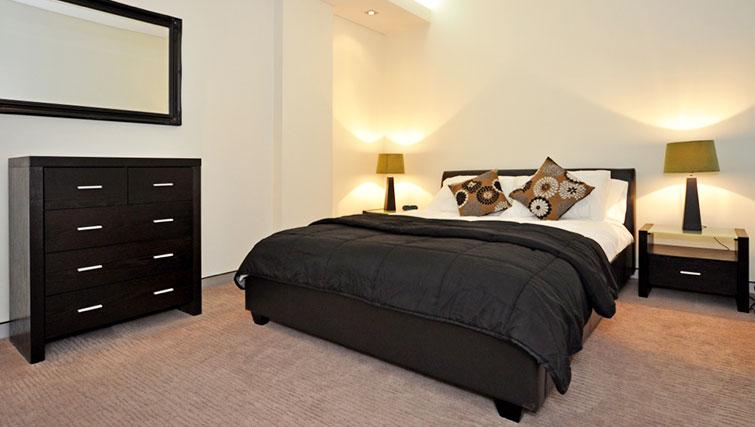 Delightful bedroom in Astra Perth CBD St Georges Terrace