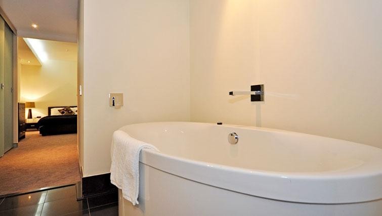 Desirable bathroom in Astra Perth CBD St Georges Terrace