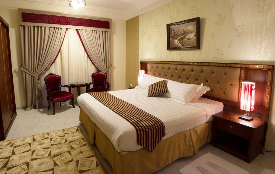 Bedroom at Safari Apartments