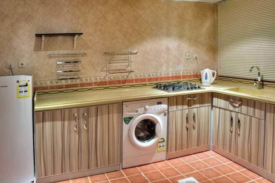 Laundry facilities at Safari Apartments