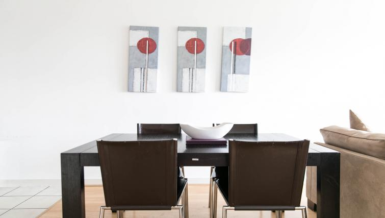 Dining table at Park Heights Woking Apartments