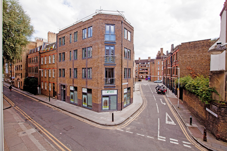 Exterior at One Whites Row Apartments, Liverpool Street, London