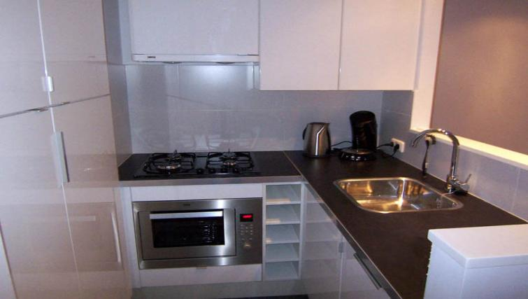 Ideal kitchen in Bleekweg Apartments