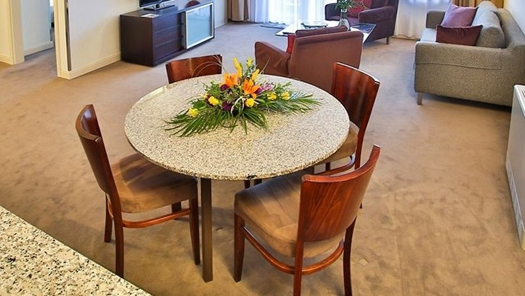 Beautiful dining area at Adina Apartment Hotel Budapest