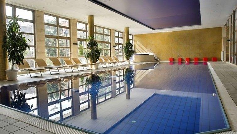 Pristine pool in Adina Apartment Hotel Budapest
