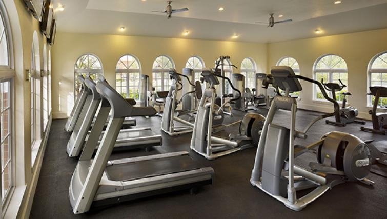Fitness centre at AVE Somerset Apartments