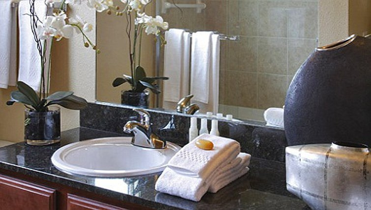Ideal bathroom in AVE Somerset Apartments