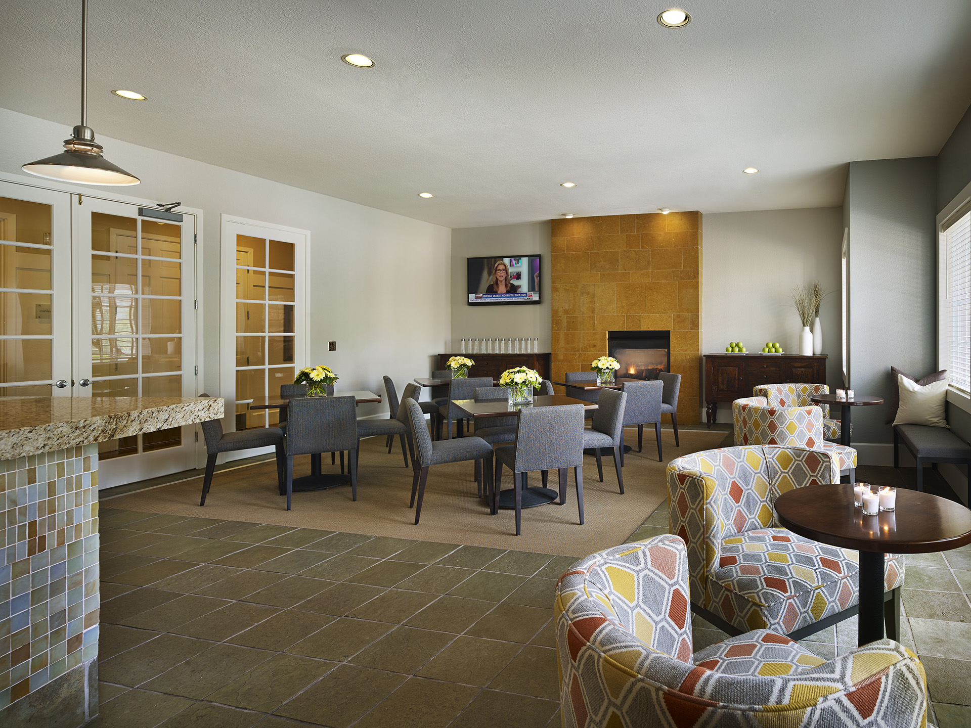 Communal area at AVE Somerset Apartments