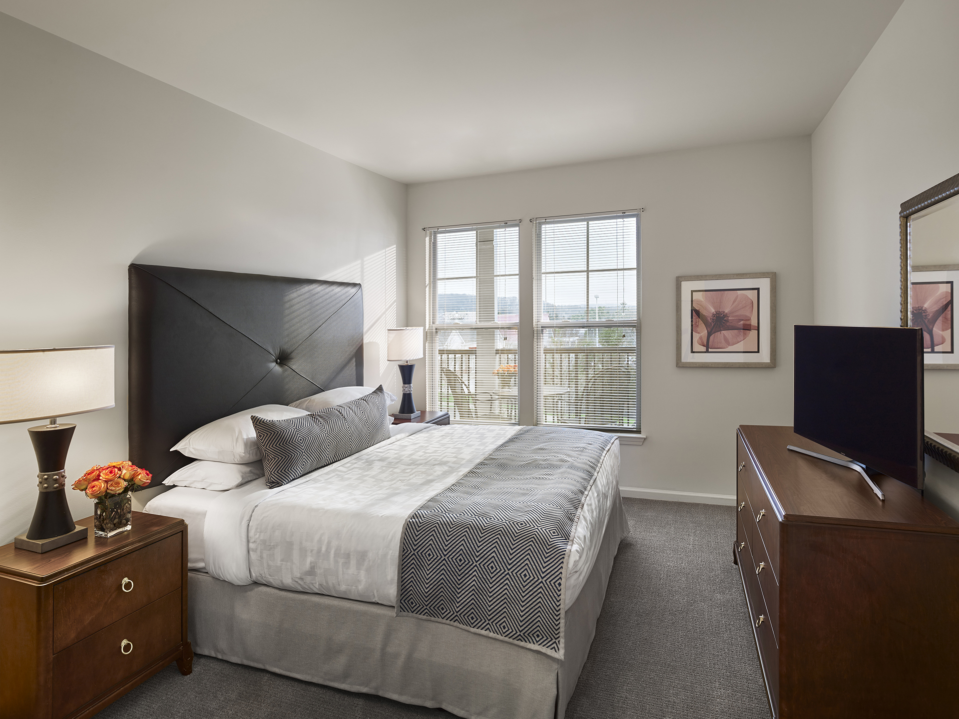 Bedroom at AVE Downingtown Apartments