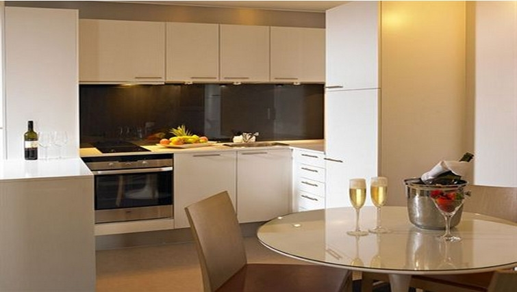 Modern living area at Adina Apartment Hotel Copenhagen