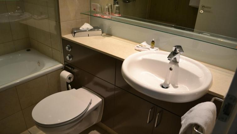 Desirable bathroom at Adina Apartment Hotel Copenhagen