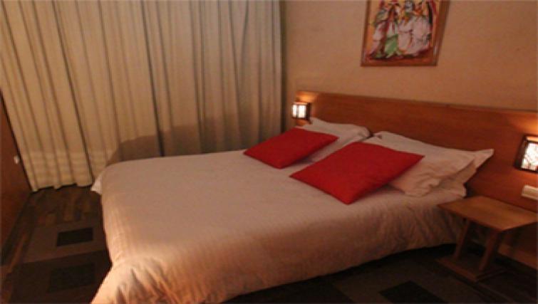 Tranquil bedroom in Casablanca Apparthotel