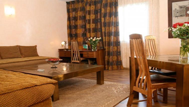 Delightful living area in Casablanca Apparthotel